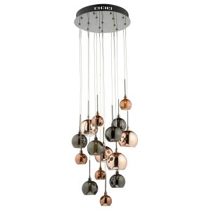 Lunar Lighting - AUR1564 Aurelia 15lt bar pendant